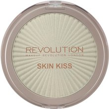 Makeup Revolution Skin Kiss Highlighter Ice Kiss rozjasňovač 15 g