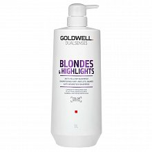 Goldwell Dualsenses Blondes & Highlights Anti-Yellow Shampoo šampon pro blond vlasy 1000 ml