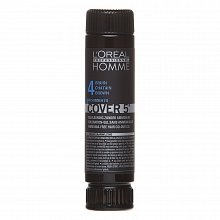 L´Oréal Professionnel Homme Cover 5 barva na vlasy No. 4 Medium Brown 3 x 50 ml